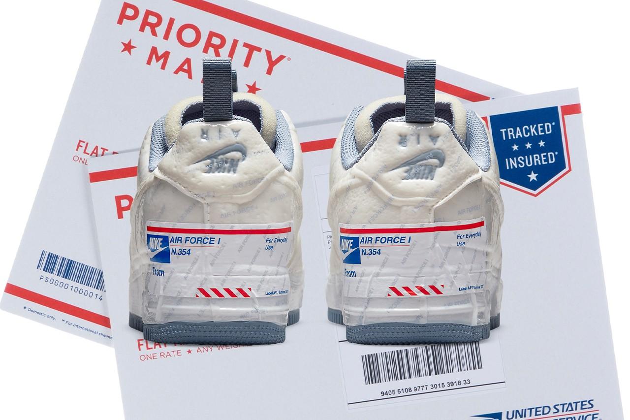 Nike får tyn for å herme etter posten til deres nye Air Force 1.