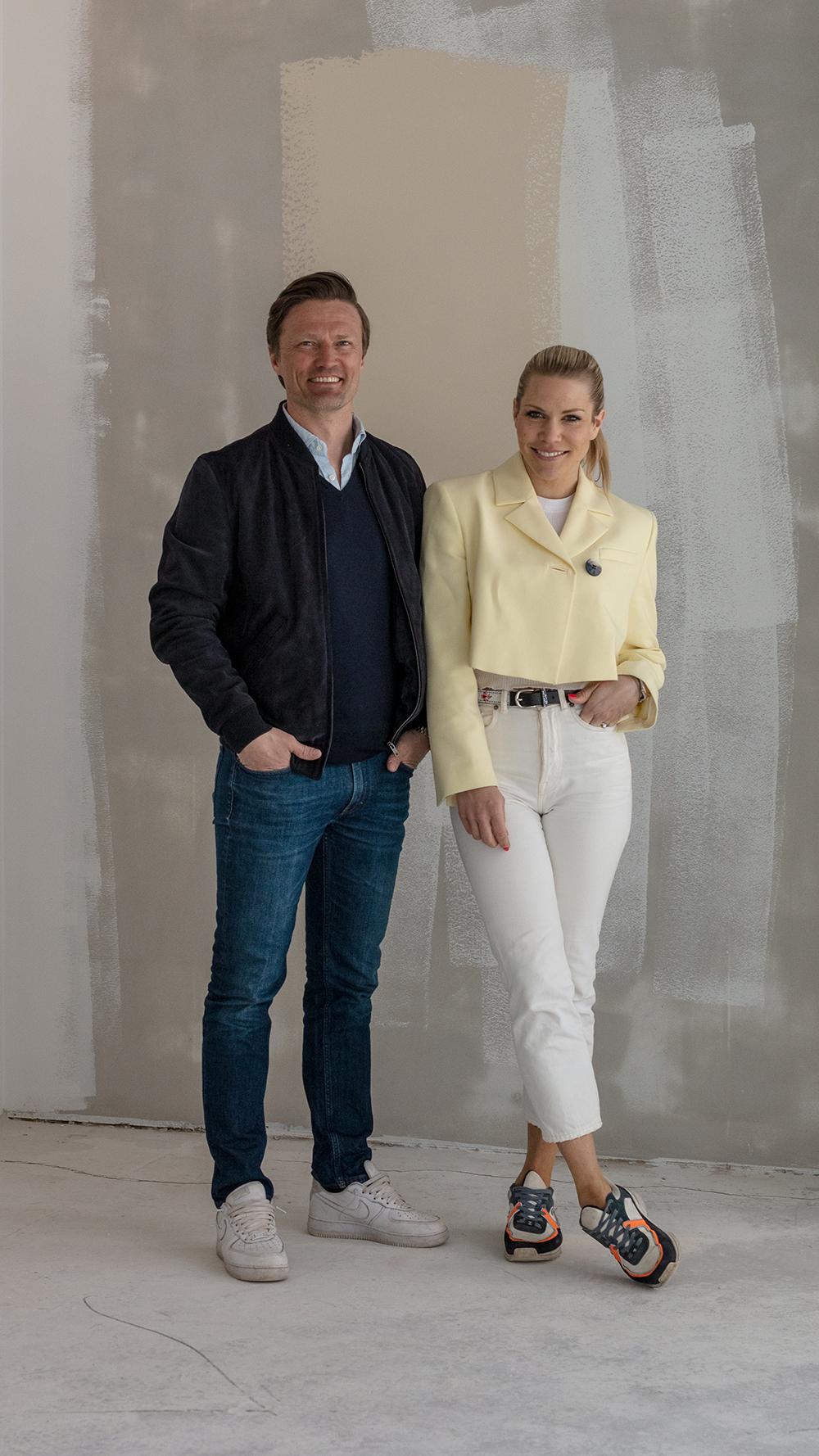 Jørgen Jalland og Anett Ringstad Jalland