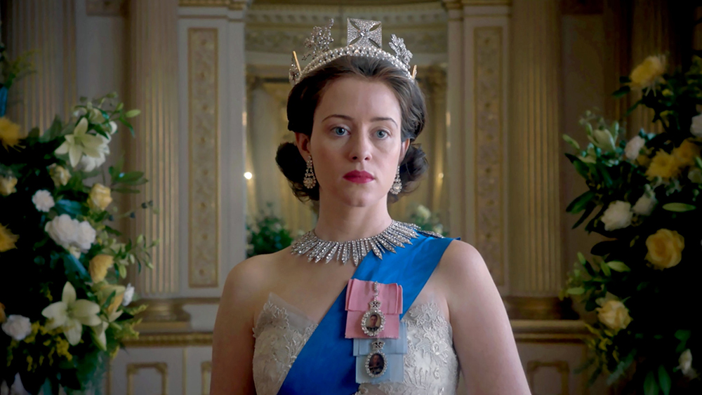 Claire Foy i The Crown