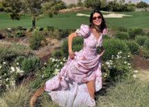 Kendall Jenner digger blomsterkjoler
