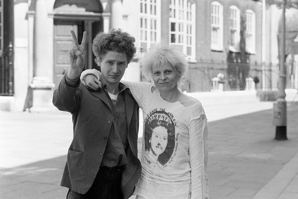 Vivienne Westwood og Malcolm McLaren