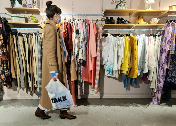Nå kan du handle klær fra flere motepersonligheters klesskap hos Fretex