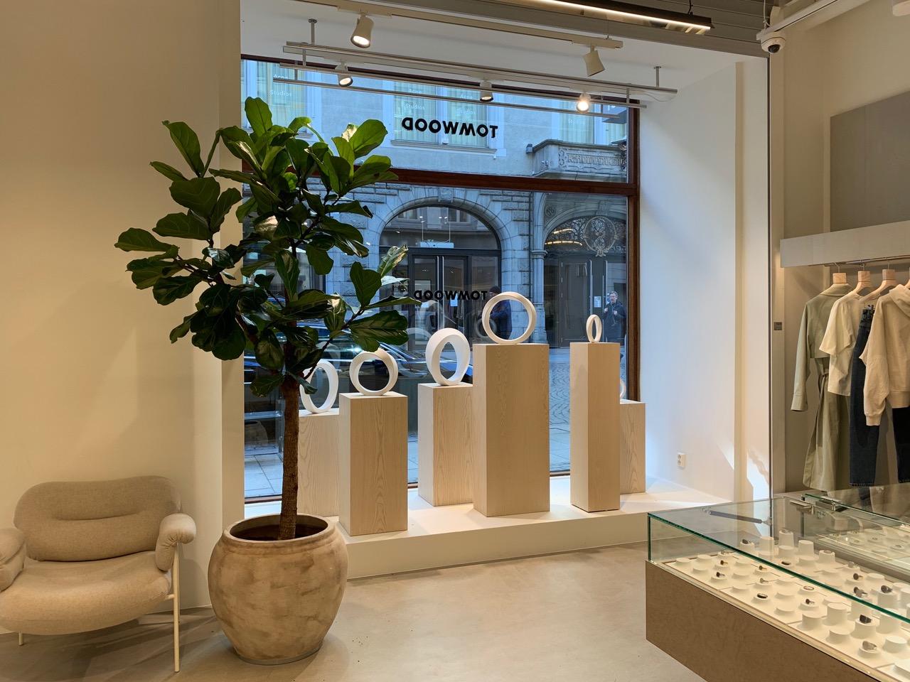 Tom Wood åpner butikk i Oslo sentrum.
