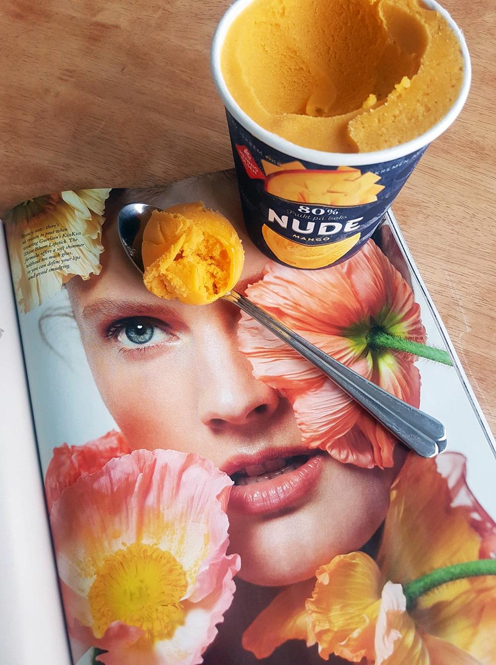 Nude Mango fra Hennig-Olsen