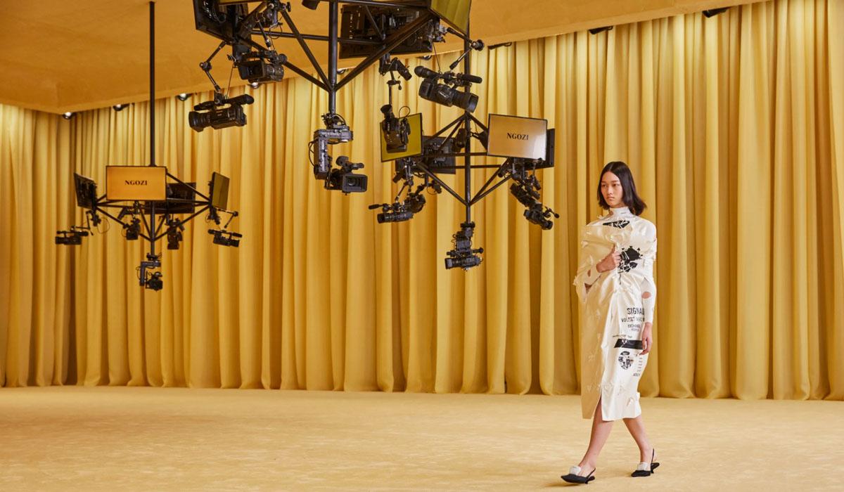 Prada sitt første digitale show