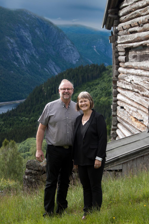 Ørnulf Hasla og Grete Fossen