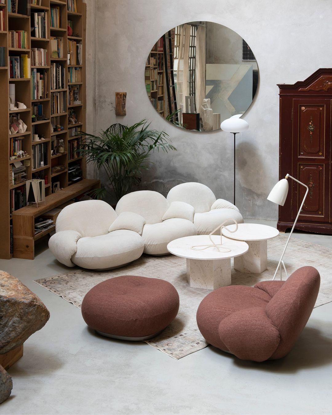 Puffy møbler er trendy om dagen