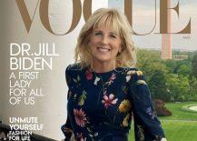 Jill Biden på forsiden av Vogue