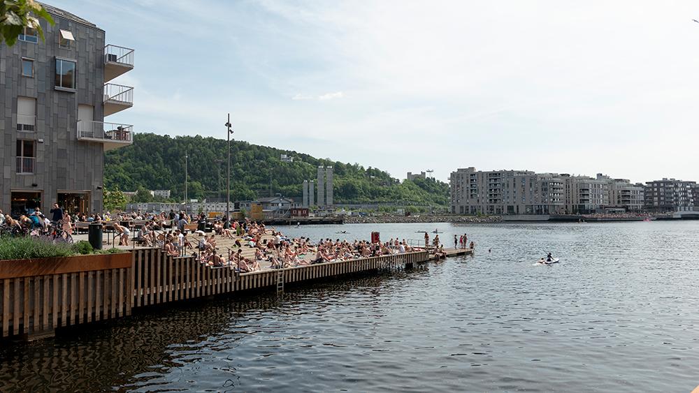 Sørenga i Oslobukta