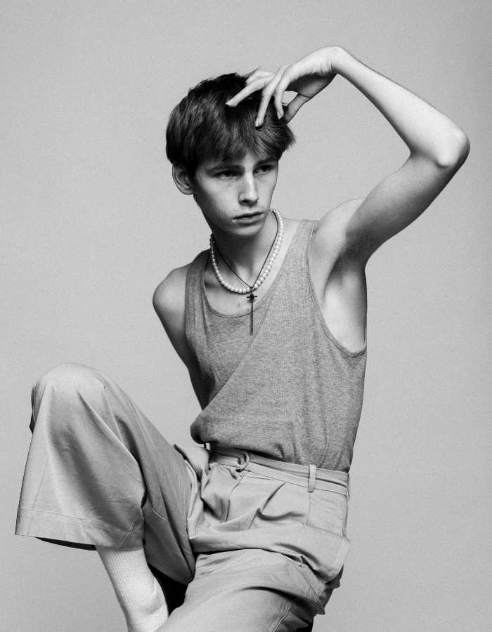 Den norske 16-åringen Eric Sveen er Hedi Slimane sin nye favoritt