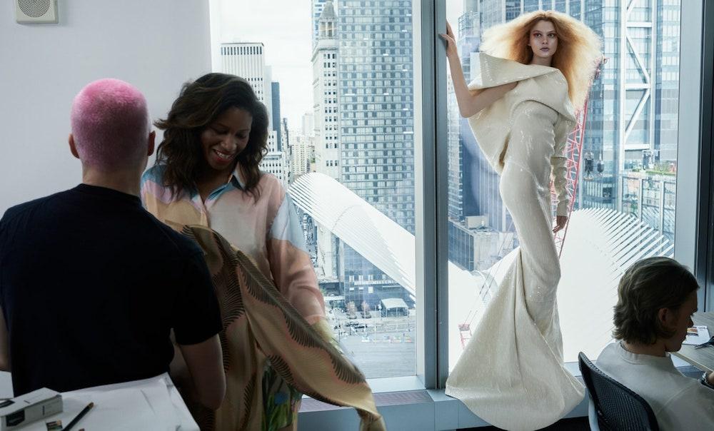 Ariel Nicholson er den første transpersonen på forsiden av amerikanske Vogue.