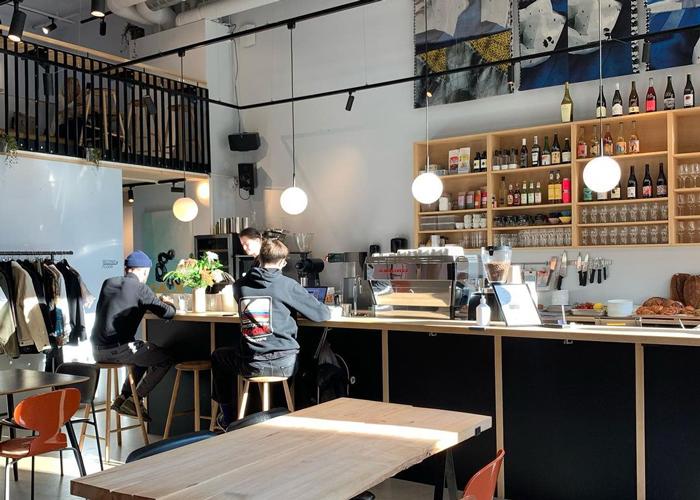 Jobbe-vennlige kafeer i Oslo
