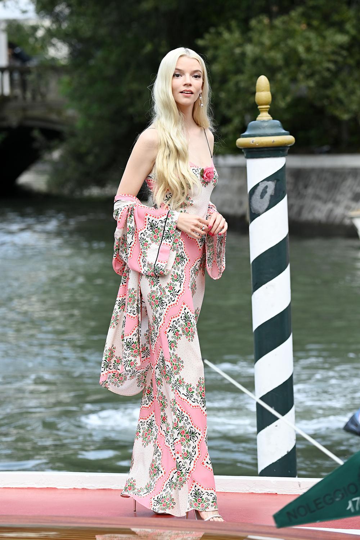Anya Taylor-Joy under filmfestivalen i Venezia